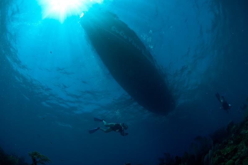 Coco View's Dive Boat