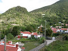 View from my porch. Windwardside, Saba