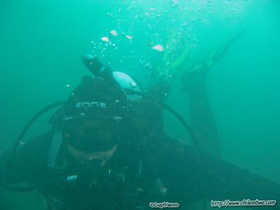 Mark underwater