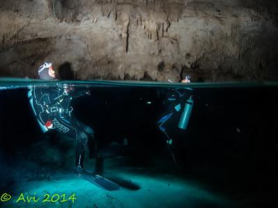 In the bat cave