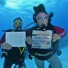 Lori's 100th Dive