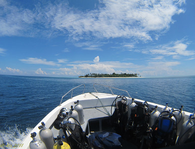Heading to Palau Mantabuan