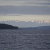 Olympic Mountains from Pender Island, BC, Canada June 8,2013