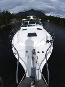 JUST for FUN in Prudeuax Haven, Desolation Sound, BC, Canada June 8, 2013