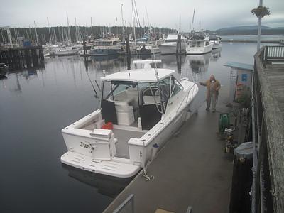 """""""Just for Fun"""" fuel dock, Friday Harbor, San Juan Island. June 7, 2013"""