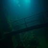 Engine room of Kensho Maru.<br /> Truk Lagoon 2013
