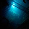 Engine room of the Nippo Maru.<br /> Truk Lagoon 2013