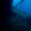 One of the holds of the Nippo Maru.<br /> Lots of interesting debris.<br /> Truk Lagoon 2013