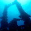 Kingpost of the Fujikawa Maru,<br /> Truk Lagoon 2013