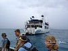 Back of the M.V. Odyssey, the boat we (14 divers) lived and dove from all week.  All dives were done directly from the back of the boat, which moored right on each of the wrecks.