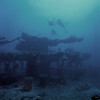 Bow Fujikawa Maru, Truk Lagoon, 1982