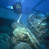 Mines and Harry, San  Francisco Maru, Truk Lagoon, 1983