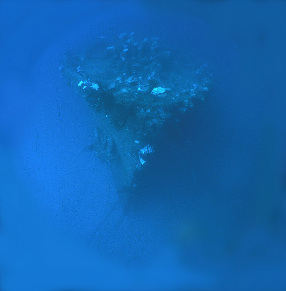 Nippo Maru, Truk Lagoon, 1983