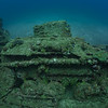 Tank on the deck of the Nippo Maru