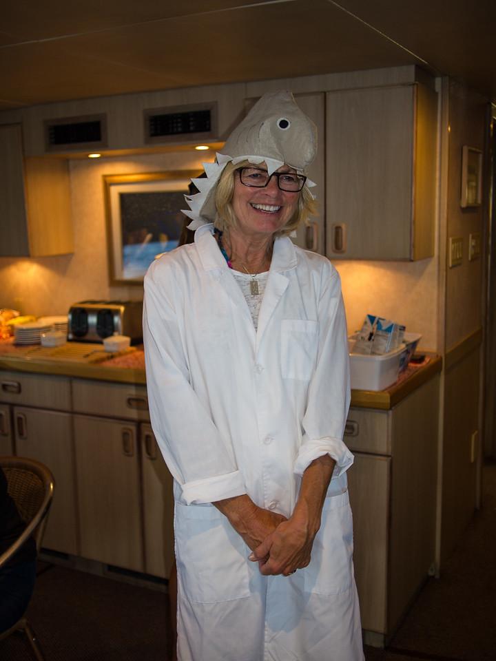 Halloween Nurse Shark.