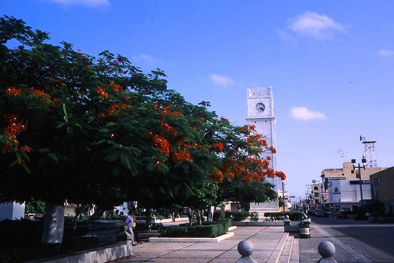 San Miguel, Cozumel town square