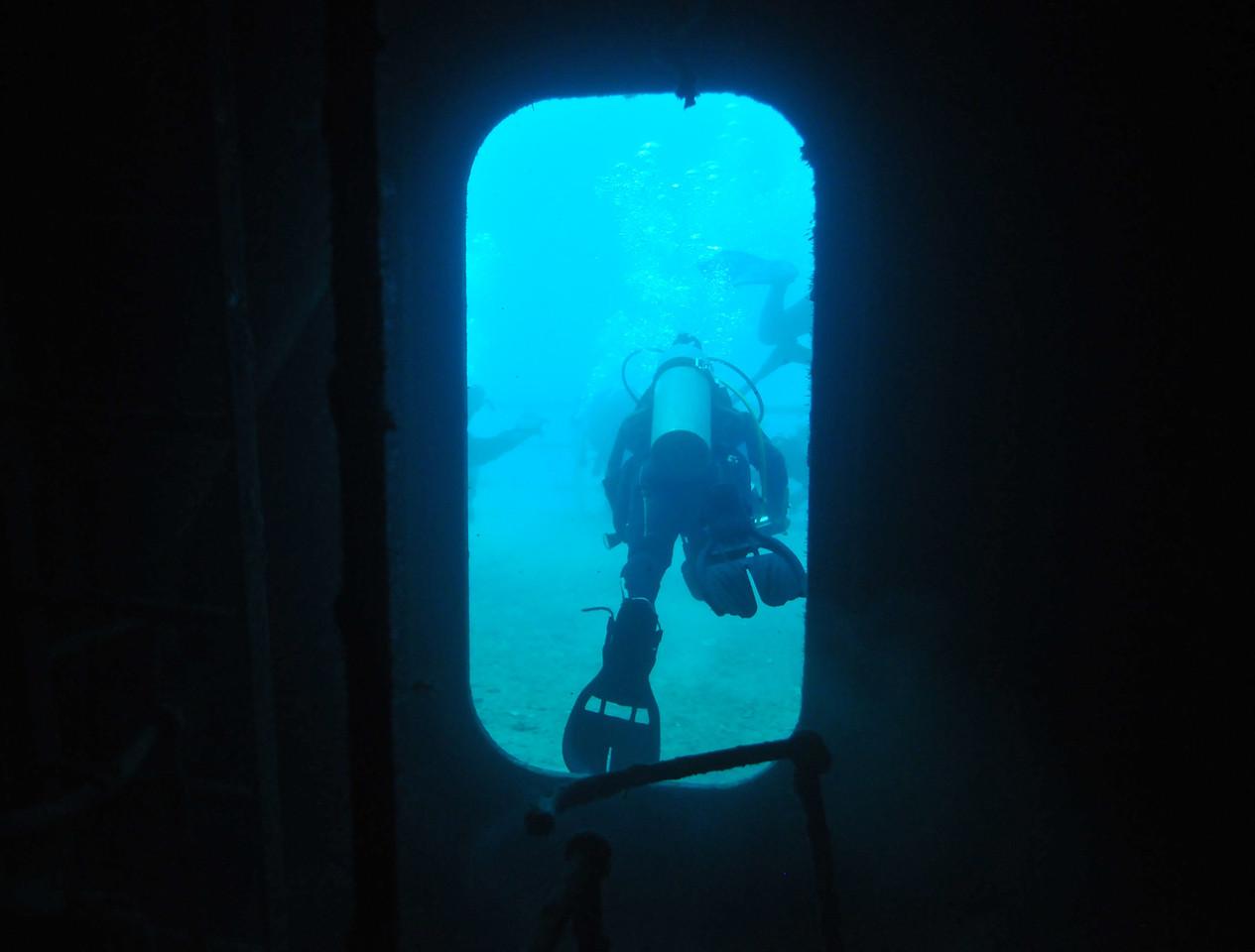 Exploring the USS Vandenberg - December 2012