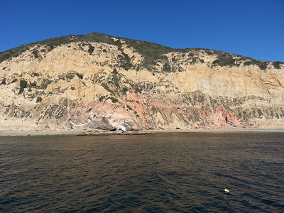 © Joseph Dougherty. All rights reserved.  Cliff face at Santa Rosa Island.  Channel Islands National Park, CA.