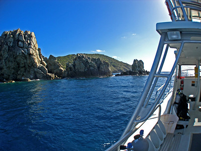 "Dive BVI Scuba Cooper Island ""Thumb Rock"" & ""Vanishing Rock"""