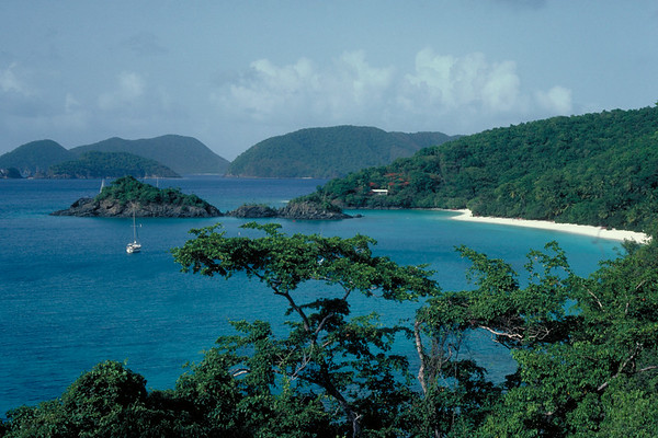 Trunk Bay  St. John US Virgin Islands