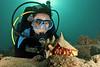 Sarah Wallendjack<br /> <br /> Oceanblue Divers trip  to St. Croix, 2013