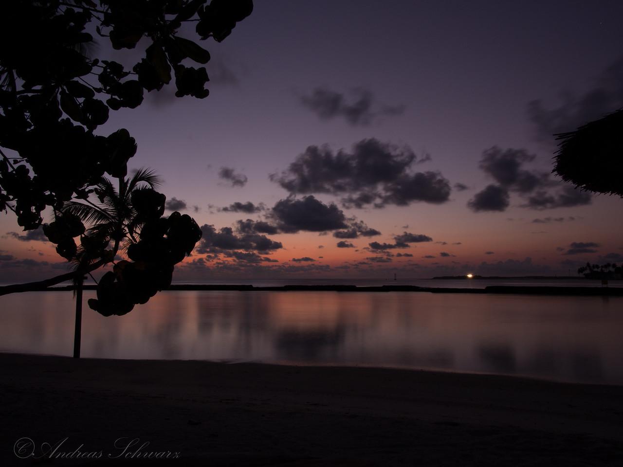 Sunrise on Beach, Maldives 2014
