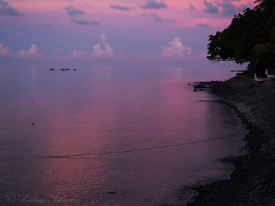 Vanished horizon, Bali 2013