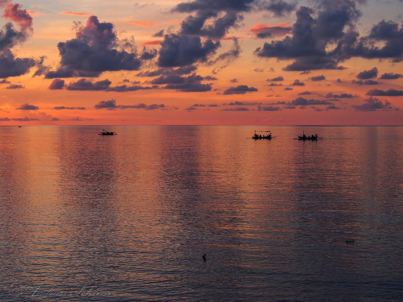 Fishermans Sundown, Bali 2013