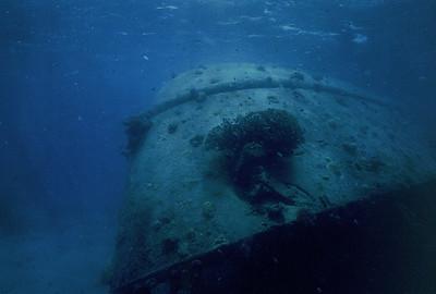 Prinz Eugen, stern,  Kwajalein Atoll
