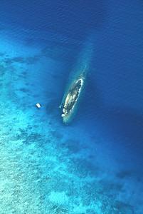 Wreck of Prinz Eugen, Kwajalein Atoll.