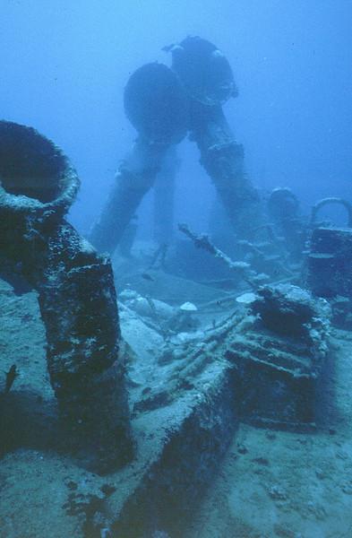 Asakaze Maru - Kwajalein Atoll. April 13, 1980