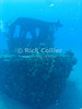 "A sunken tugboat.  St. Eustatius (Statia), Netherlands Antilles.<br /> <br /> <br /> <br /> <br /> ""St. Eustatius"" ""Saint Eustatius"" Statia Netherlands Antilles ""Lesser Antilles"" Caribbean underwater diving ocean SCUBA dive diver wreck sunken boat"