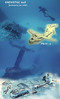 """Wreck of PBM """"Mariner""""  flying boat on the bottom of Enewetak Atoll lagoon.<br /> January 26, 1981. Cartoon not true depiction of the real thing. :)"""