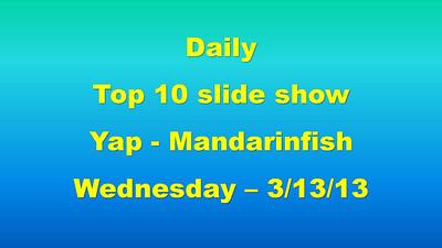 SmugMug title slide (Mandarinfish master)