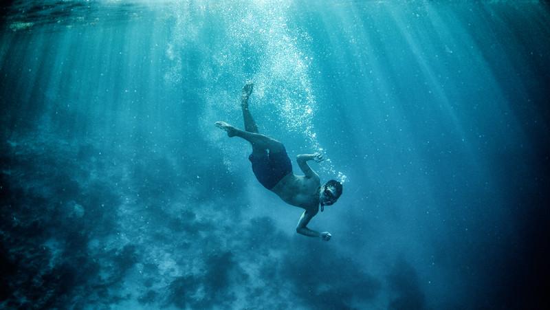 Duarte Snorkeling the Blue Hole