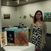 Student projects the Unearthed: Art of and From the Earth were organized by Amber Berg, graduate student in regional and community planning as part of K-State's Green Week (Conrad Kabus | Collegian Media Group)