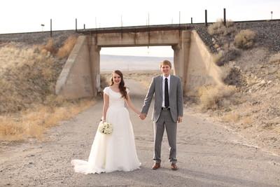 (Unedited) Katie + Trent Bridals