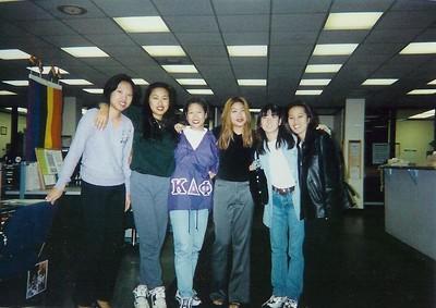 Gloria Shiang, Christine Shiang, Grace Ginger Gor, Ann Intarakomheang, Meme Mizusawa and Traci Phan.