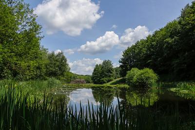 """Kleiner See am """"Lebensweg"""" Mühlegraben/A  Drei Ländernaturpark"""