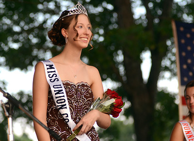 Lacey Smith, 18, of Lewisburg was crowned Miss Union County for 2012 Wednesday night at the West End Fair Pageant.