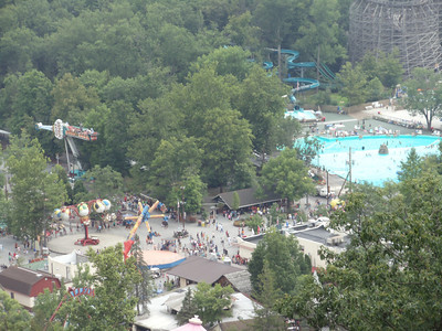 High Above Knoebels Photo by Brenda Kling, York