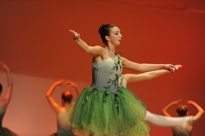 Lewisburg Dance Conservatory Spring Recital rehearsal 2014