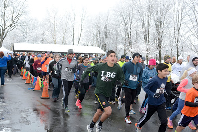 A flock of more than 300 runners and walkers turned out Thursday morning to participate in the annual Turkey Trot 5k in Mifflinburg.
