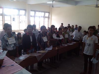 2014 Jun - Pyay University - CLE Mock Trial