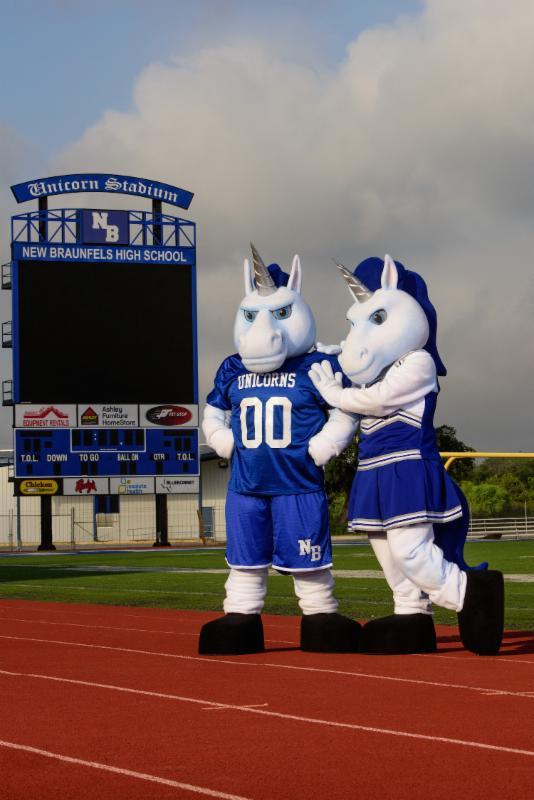 New Unicorn Mascots