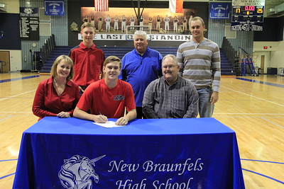 James McArthur signed letter of intent to play baseball at the University of Mississippi (Ole Miss).