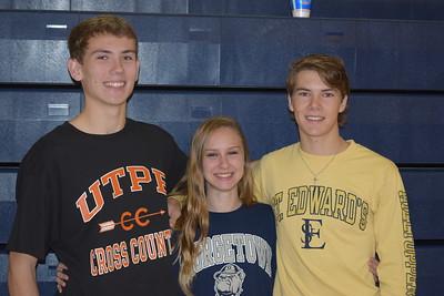 Joshua Gruwell, Paige Hofstad, and Stone Hamlin