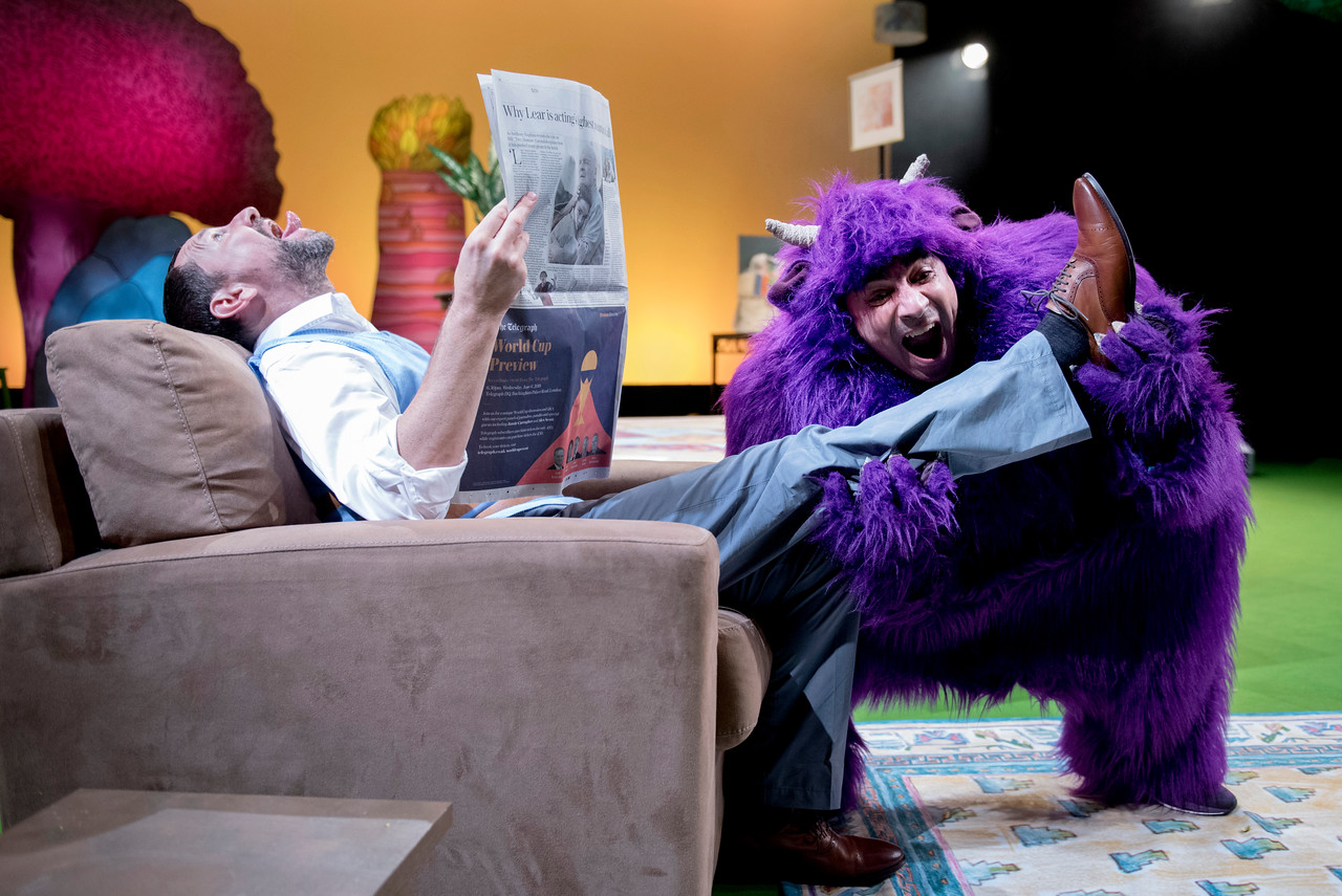 A Unicorn Production  NOT NOW, BERNARD  Directed by Sarah Argent