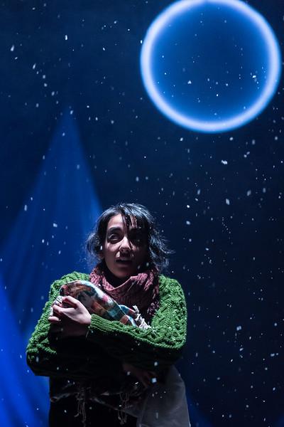 The Caucasian Chalk Circle at Unicorn Theatre,  Kiran Sonia Sawar  © Manuel Harlan