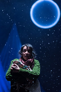 The Caucasian Chalk Circle at Unicorn Theatre,  Kiran Sonia Sawar  © Manuel Harlan